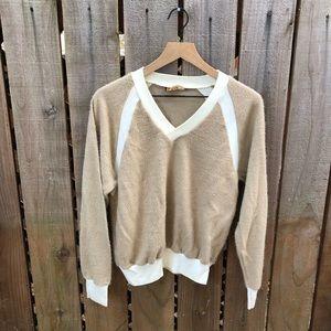 Vintage Women's Tan Sweater
